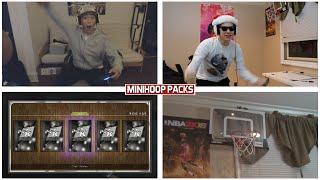 Epic minihoop pack opening wager!! - nba 2k16 my team