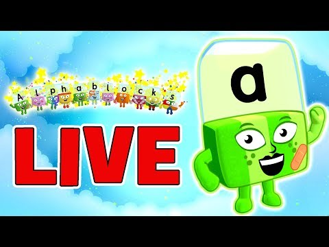 🔴ALPHABLOCKS LIVE - LEARN TO READ | SPELLING FOR KIDS