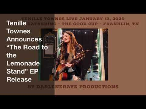 """Tenille Townes Announces """"The Road To The Lemonade Stand"""" Ep Release Secret Gathering"""