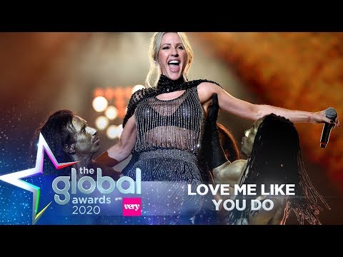 Ellie Goulding - 'Love Me Like You Do' (Live at The Global Awards 2020) | Smooth Radio