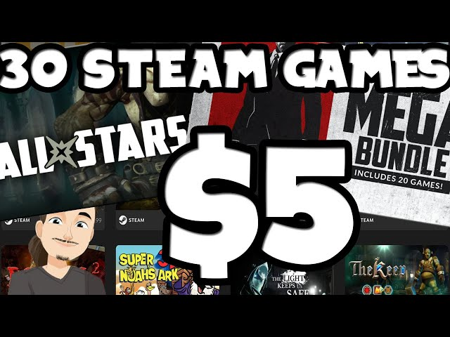 30+ Decent Steam Games for $5? || Humble Choice for $6!