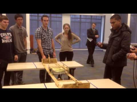 TCNJ, School Of Engineering: Textbook Transportation Design Challenge Fall 2013