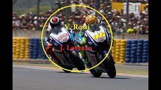 Best Overtake Ever!! Valentino Rossi vs Jorge Lorenzo MotoGP