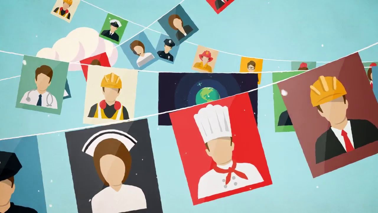Animated Video Production - World Teachers Day Motion Graphics Video