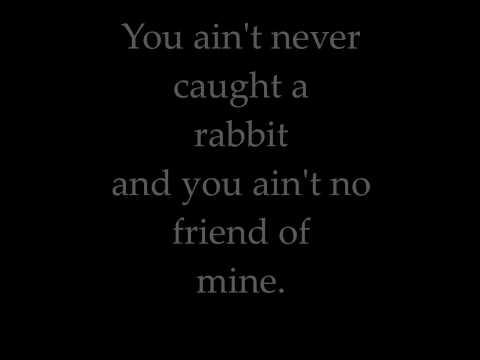 Elvis Presley Hound Dog Lyrics