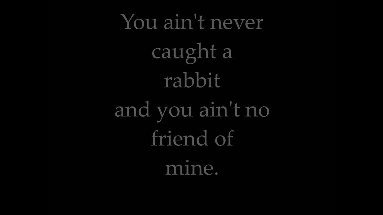 hound dog lyrics elvis
