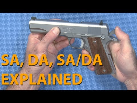 Single, Double or Safe Action - Pistol Actions explained