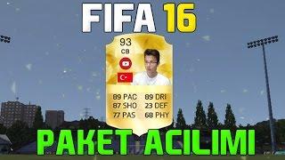 PAKETLER DAHA GÜZEL OLAMAZDI  - FIFA 16 PAKET AÇILIMI