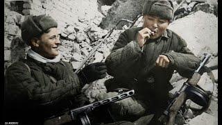 Battle of Stalingrad Color Footage [1942-1943] | HD WW2