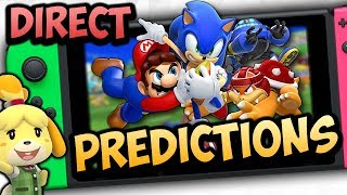 NEW Mario and Sonic Olympics Switch Game FINALLY?! - Nintendo Direct February 2019 Predictions