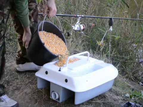 видео тест прикормки для рыбы