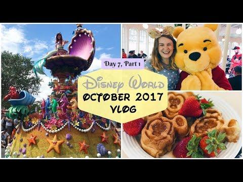 Disney World Fall 2017 - Day Seven,  Part One - Crystal Palace Breakfast | Charlotte Ruff