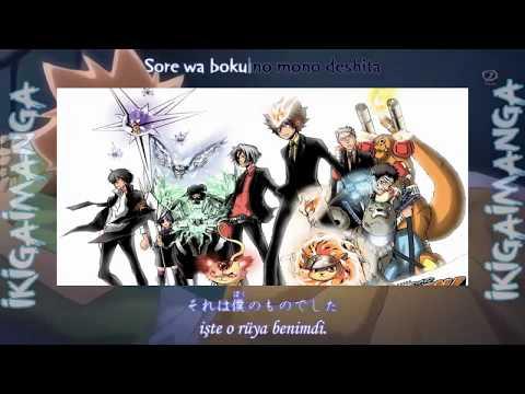 Katekyo Hitman Reborn | Ending 12 Aoi Yume (Türkçe altyazılı)