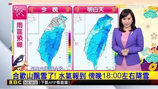 氣象時間 1090127 晚間氣象 東森新聞