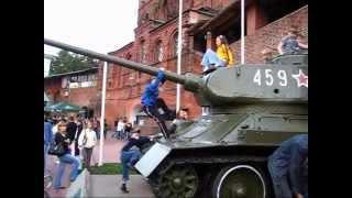 Выставка оружия Победы в г. Нижнем Новгороде