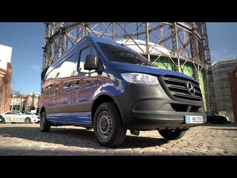 2019 Mercedes eSprinter Electric Van - Up Close Look