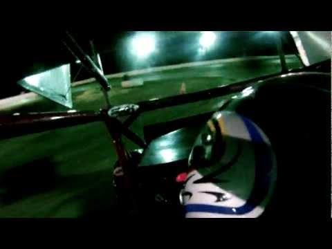 Micro Sprint 6/23/12 Heat Race 1b Dixon Speedway