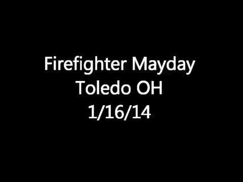 Toledo OH FF Mayday Fireground Audio 1/26/14