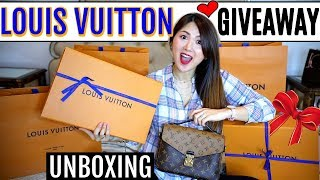 LOUIS VUITTON 👜 GIVEAWAY UNBOXING and $500 GIFT CARD | CHARIS IN PARIS 💕
