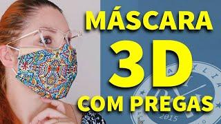 Máscara De Proteção 3D Com Prega – Passo A Passo