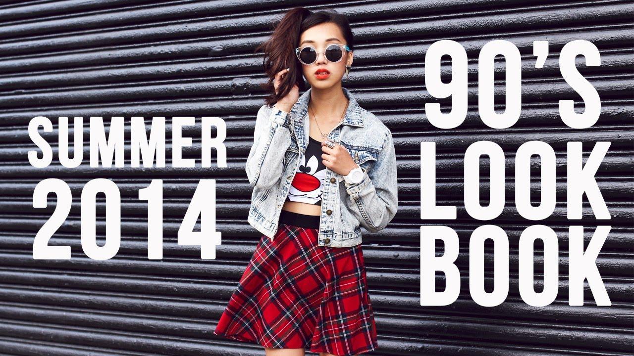 e88f0a854728 90 s Fashion Inspired Lookbook - YouTube