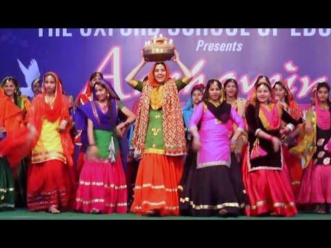 Giddha (Punjabi folk dance) by Oxford Students