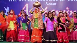 Giddha (Punjabi folk dance) by Oxford Students