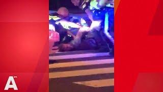 Politie rijdt beschonken Dave Roelvink klem op Surinameplein na achtervolging