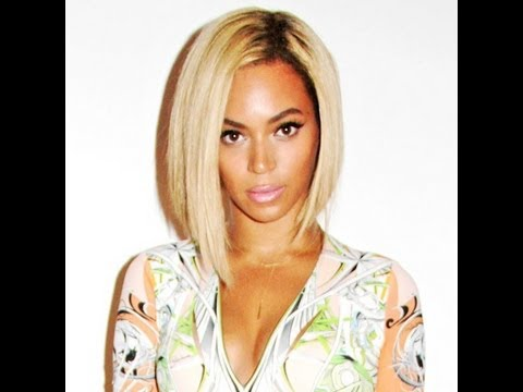 bey inspired blonde bob youtube