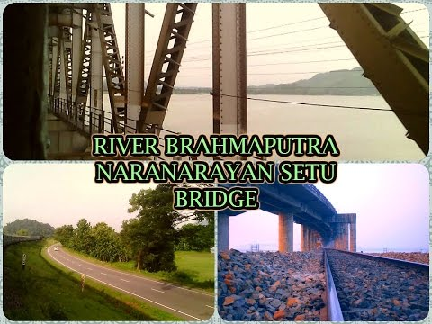 Saraighat Express Crossing River Brahmaputra Naranarayan ...  Saraighat Expre...