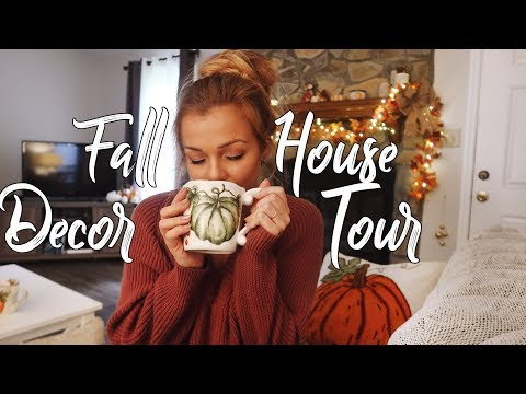 Fall Decor House Tour | Coastal Farmhouse Style Home