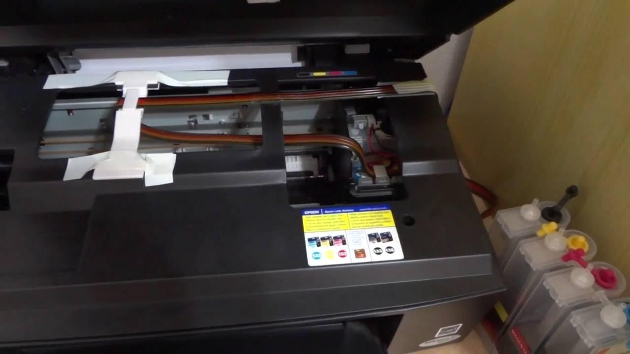 Impressora epson tx420w.MTS - YouTube