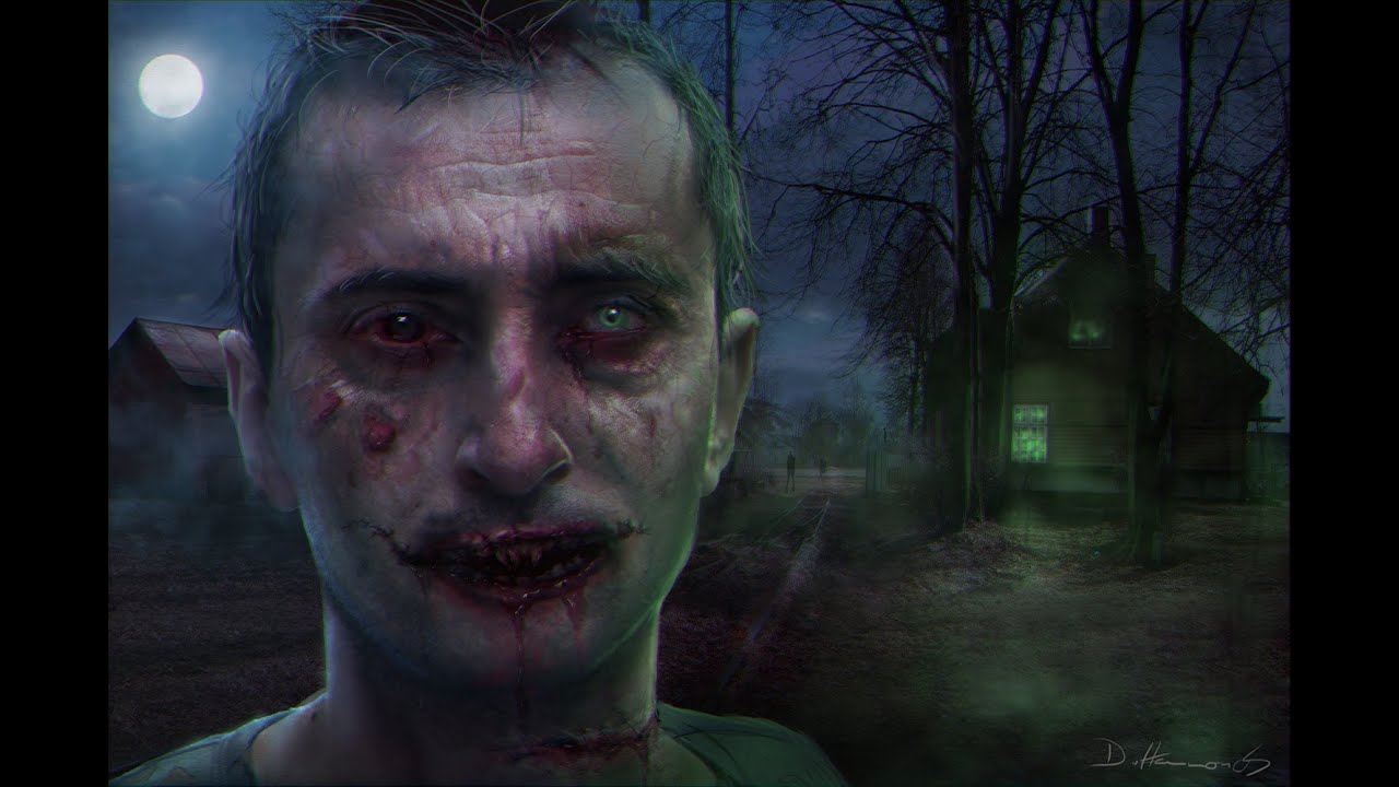 The best zombie photoshop tutorial ever maybe 1 of 3 youtube baditri Image collections