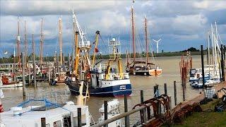 Impressionen aus dem Hafen Ditzum im Rheiderland / Fishing village Ditzum in Germany