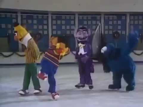 Christmas Eve on Sesame Street - Oscar the Grouch falls down the ...