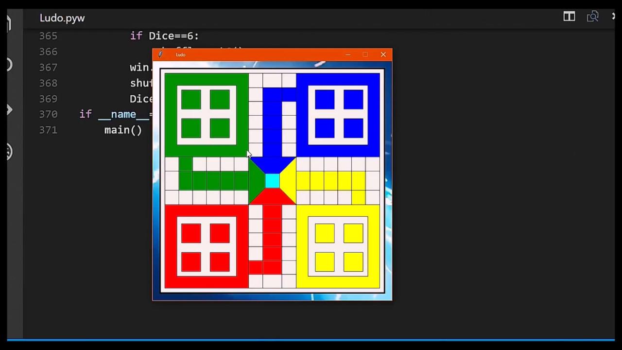Ludo game n Python - Python graphics Gui with Graphics module