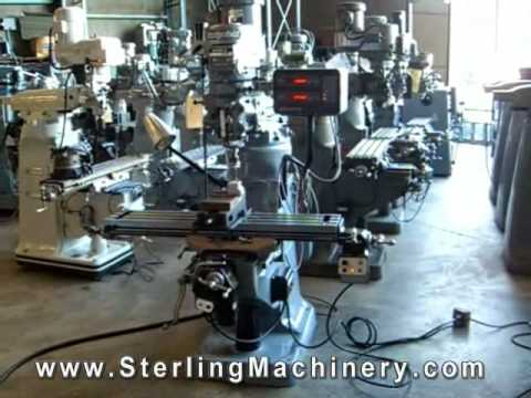 How to Buy a Bridgeport Vertical Milling Machine For Sale- Inspection, Options, Information