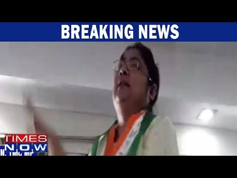 Dola Sen Endorsing Extortion While Addressing Party Workers In Purulia