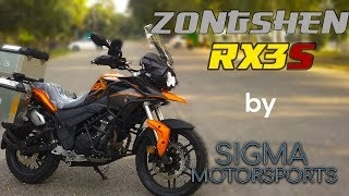 [English Subs] Zongshen RX3S  REVIEW and RIDE by Biker Dude