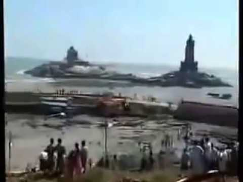 tsunami @ KanyaKumari- a rare video ...from 3.40 minutes starts the horrible scene.