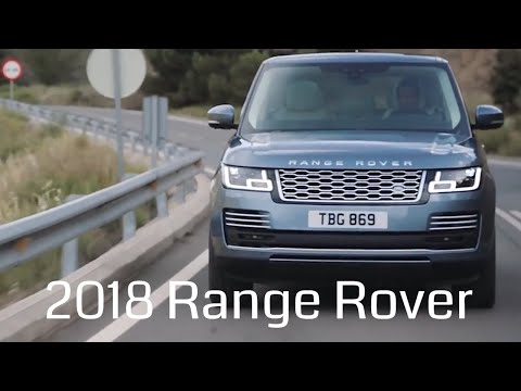 Range Rover 2018 revealed  – Design, Technology and Performance