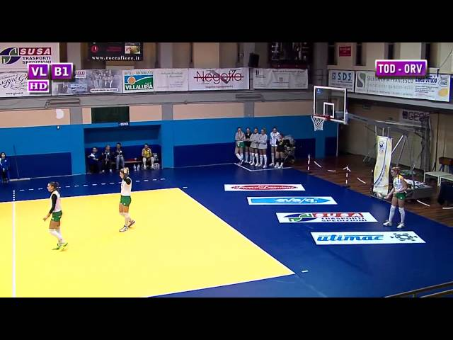 Todi vs Orvieto - 1° Set