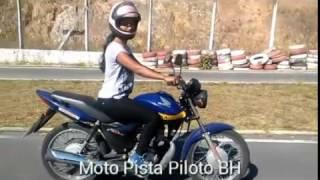 moto pista piloto nova vista BH