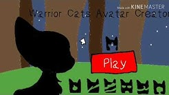Warrior cat avatar creator (flipaclip animation)