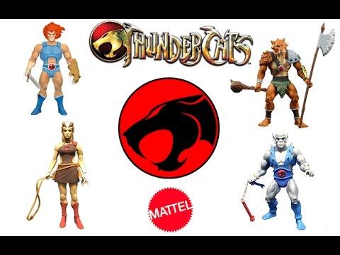 2016 Mattel ThunderCats Figures Revealed (Lion-O, Jackleman, Pumyra, Jackleman, Mumm-Ra)