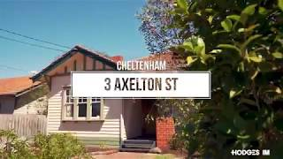 CHELTENHAM 3 AXELTON STREET – Pandelis Plousi