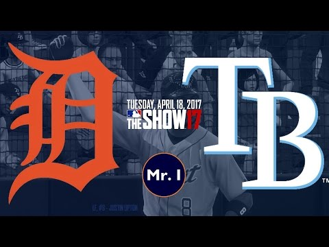 HOMERDOME! (Detroit Tigers @ Tampa Bay Rays) - MLB The Show 17