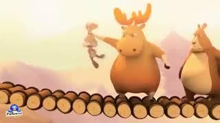 有趣 3d卡通動畫 麋鹿與熊 感覺兔子比較         3d animation bad bunny!