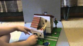 видео Lego дом для семьи