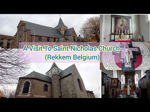 The Saint Nicholas Church of Rekkem Belgium